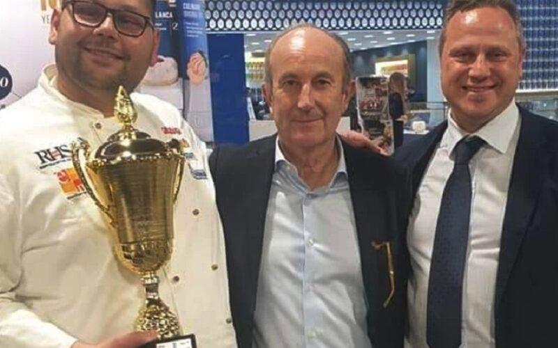 Pistacchio e cioccolato per un gelato gourmet, Schembri premiato al concorso Chef Glacier di Rimini