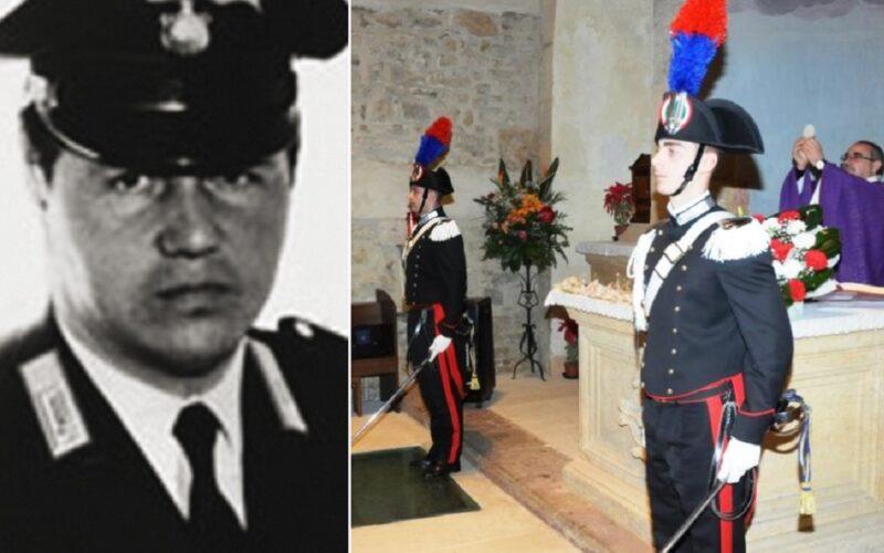 I Carabinieri rendono omaggio alla memoria dell'appuntato Michele Fiore