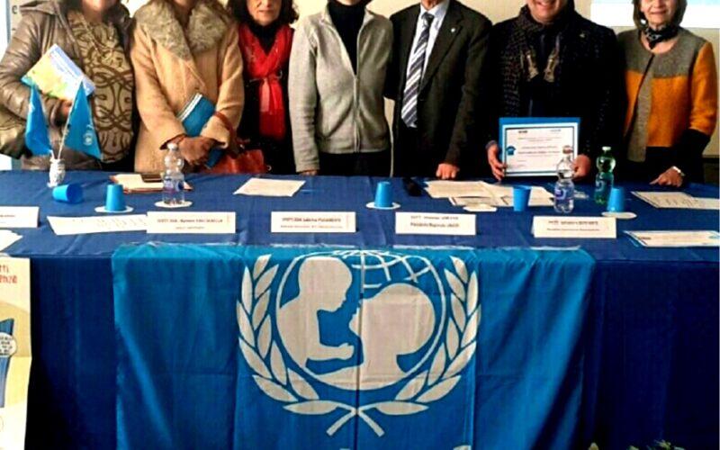 Il 2° Circolo didattico si conferma scuola amica dei bambini e ambasciatrice dell'Unicef