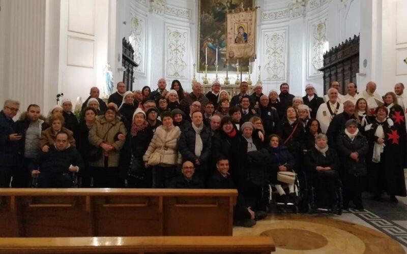 Celebrazione eucaristica per chi soffre in occasione della Giornata Mondiale per il Malato. Messa presieduta da don Cultraro