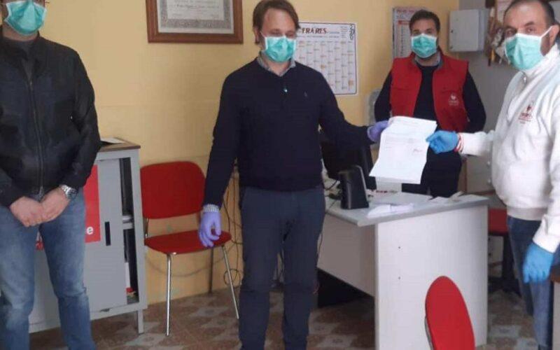 Niscemi: donati mille euro al comune, un aiuto concreto verso i bisognosi