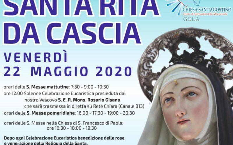 Gela venera Rita, la santa delle cause impossibili. Domani la solenne celebrazione presieduta dal vescovo