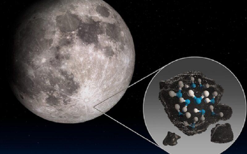 C'è… acqua sulla Luna