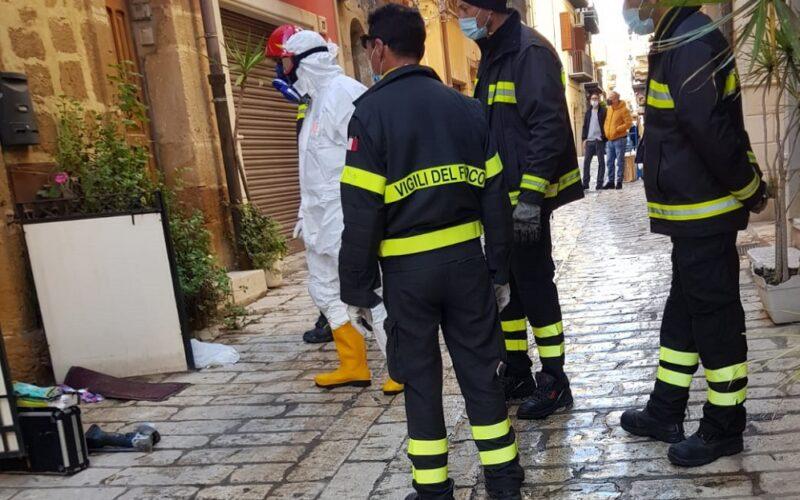 Gela: «miracolo» in via Pisa, zia Maria è viva. Si era temuto il peggio. Il suo grazie commosso ai soccorritori