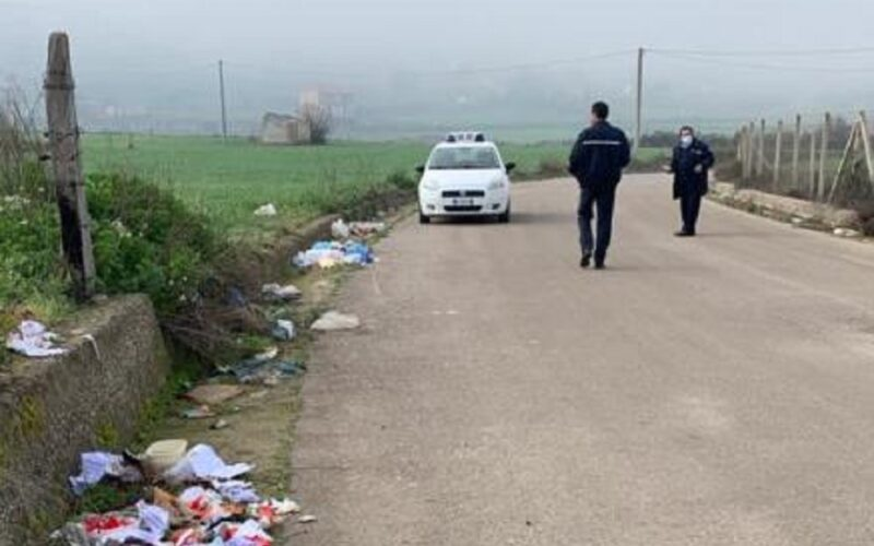 Riesi: chi sporca paga, giro di vite della Polizia municipale contro i «furbetti del sacchettino»