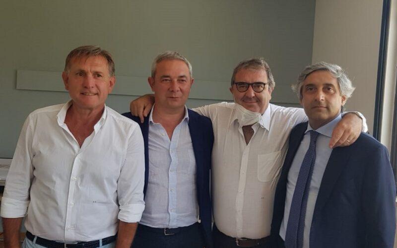 Forestali e risorse idriche, Scilla visita l'ispettorato e il Cefpas. «Un milione di euro sul progetto dieta mediterranea»