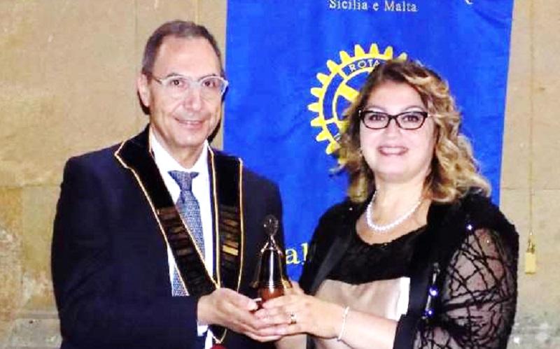 Rotary Valle del Salso, Cocita neo presidente. Cerimonia del passaggio di campana